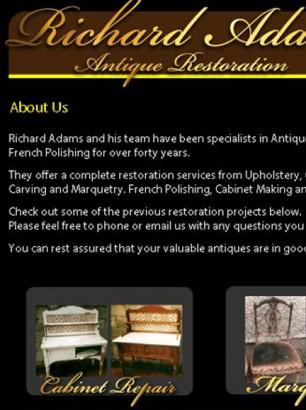 Antique Restoration Website
