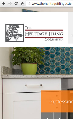 Heritage Tiling Website Design