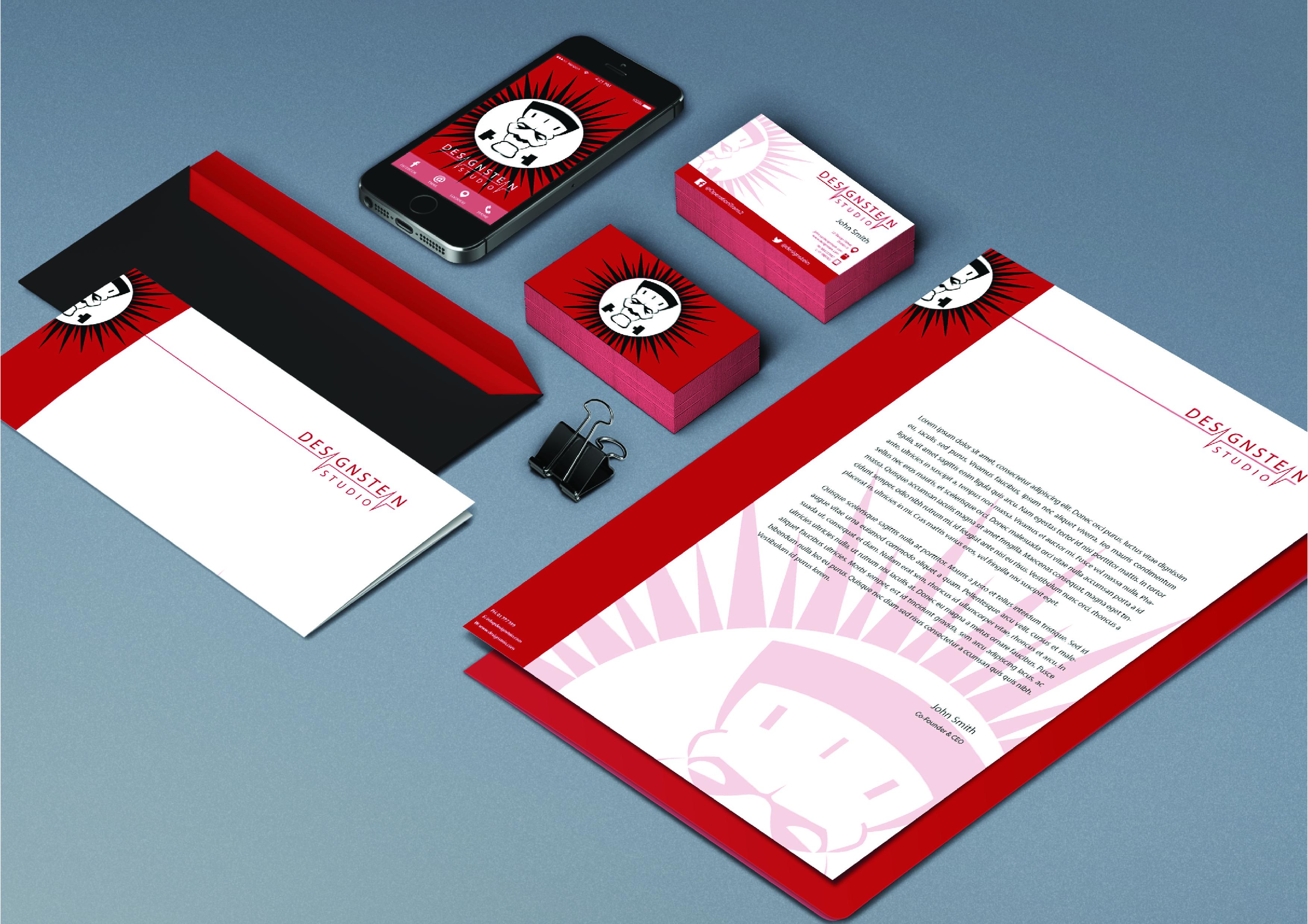 Designstein Branding Collage