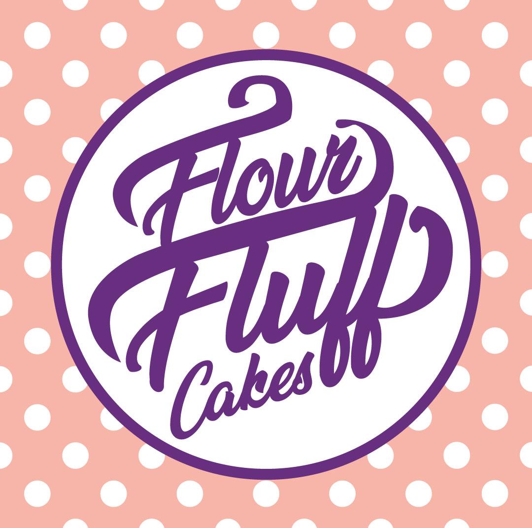 FLour Fluff Cakes Branding